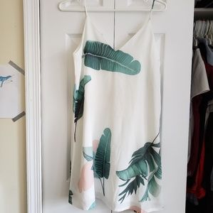 Dresses & Skirts - Pastel Banana Leaf Shift Dress